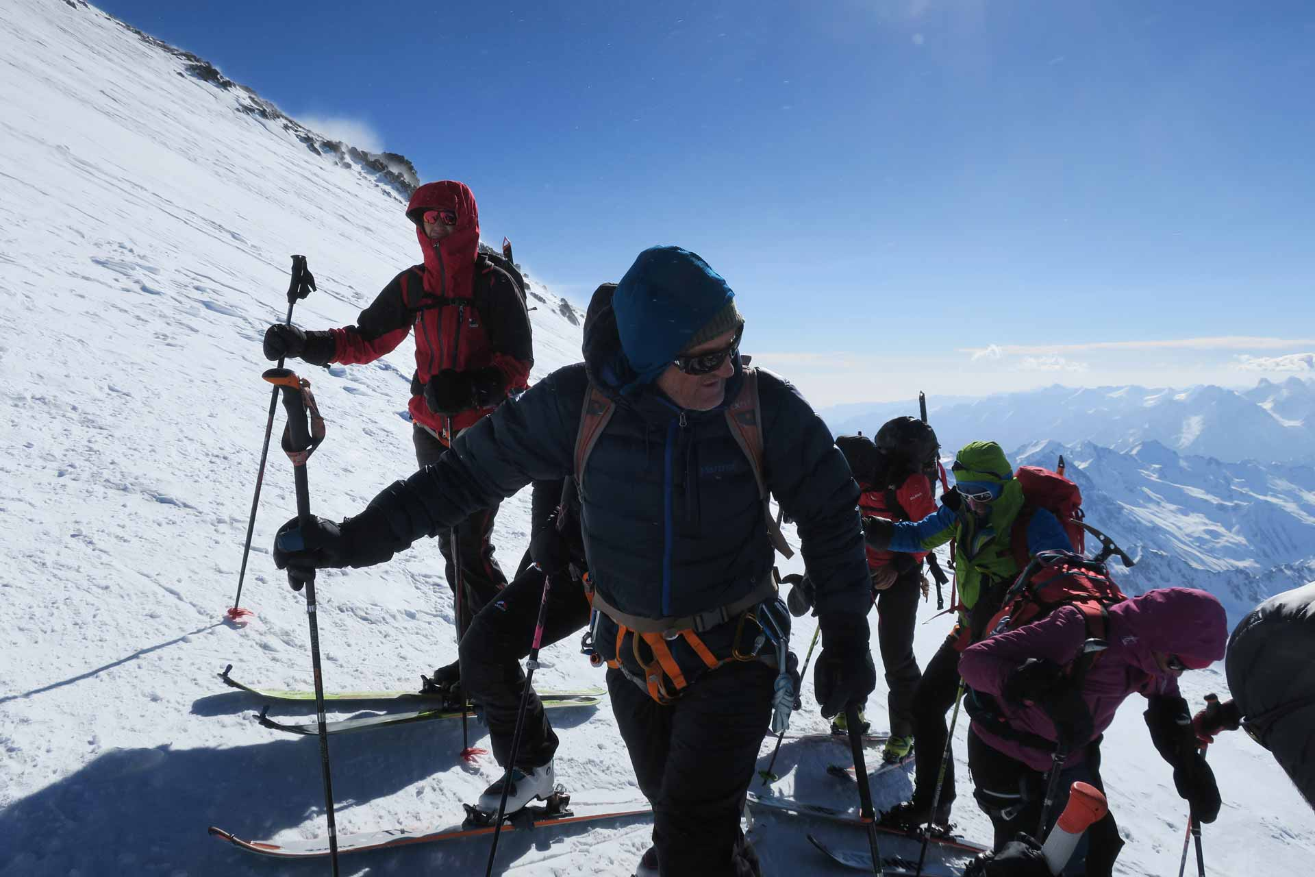 skitour erlbus bergführer albert kirschner